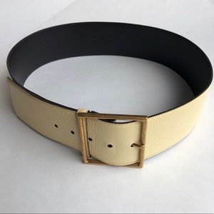 Vintage Wide Yves Saint Laurent YSL Belt